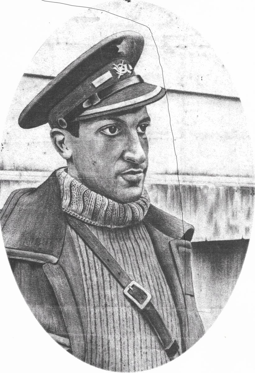 Auto-portrait de Enrique Zudaire Menezo